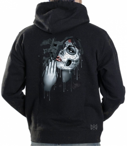 Day of the Dead Pray Hoodie Sweat Shirt