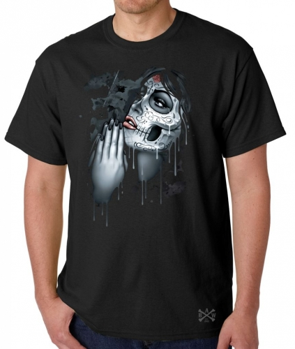 Day of the Dead Pray T-Shirt