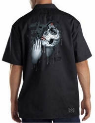 Day of the Dead Pray Work Shirt