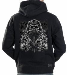 Egyptian Gasmask Hoodie Sweat Shirt