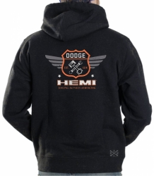 Dodge Garage Hemi Hoodie Sweat Shirt