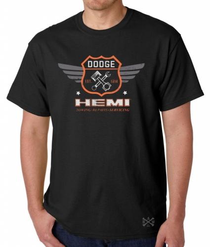 Dodge Garage Hemi Warpaint T-Shirt