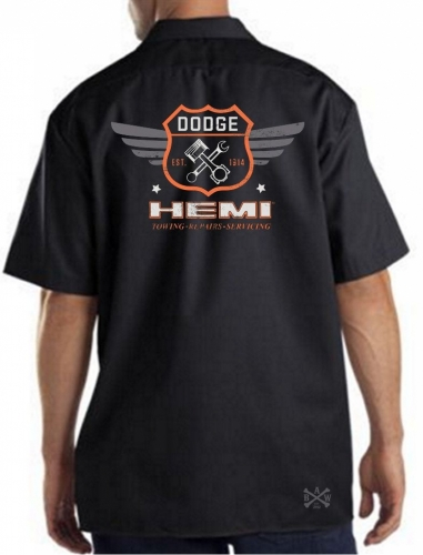 Dodge Garage Hemi Work Shirt