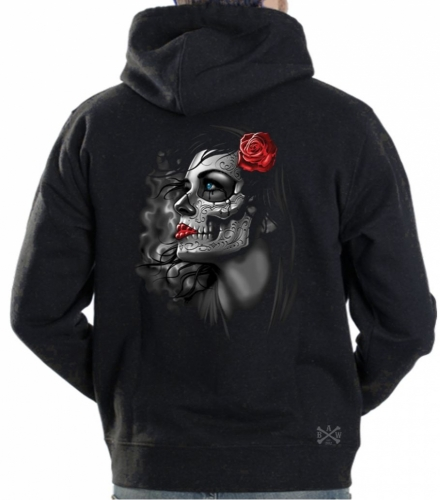 Rose Girl Hoodie Sweat Shirt