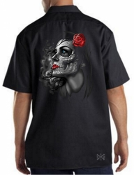 Rose Girl Work Shirt