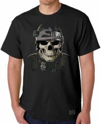 Military Skull T-Shirt