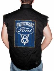 Ford Genuine Parts Sleeveless Denim Shirt