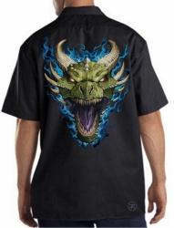 Green Dragon Work Shirt