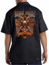Ride Free Work Shirt