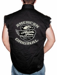 American Original Sleeveless Denim Shirt