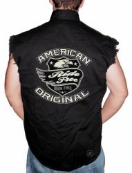 American Original Sleeveless Denim Shirt