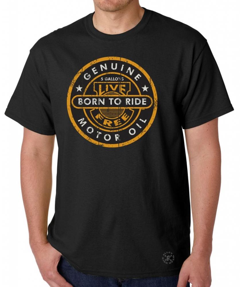 Genuine Motor Oil T Shirt Back Alley Wear