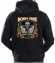Born Free Hoodie Sweat Shirt