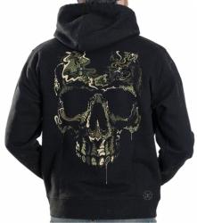 Special Ops Camo Skull Hoodie Sweat Shirt