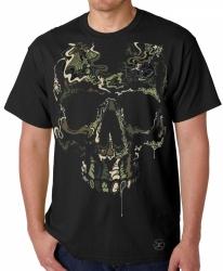 Special Ops Camo Skull T-Shirt