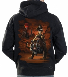 Tigress Warrior Hoodie Sweat Shirt