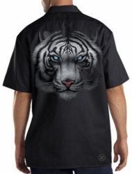 White Tiger Work Shirt