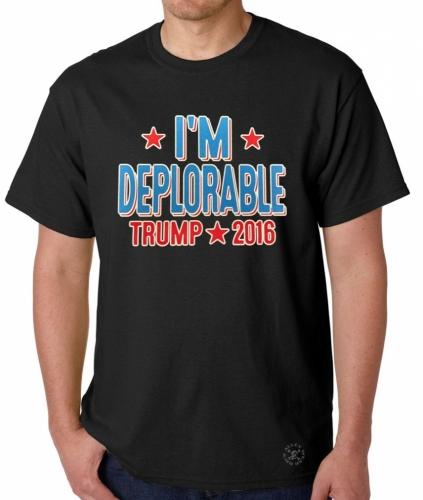 I'm Deplorable Trump 2016 T-Shirt