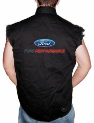 Ford Performance Sleeveless Denim Shirt