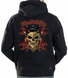 Rockabilly Devil Hoodie Sweat Shirt