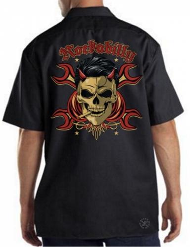 Rockabilly Devil Work Shirt