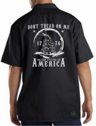 Don't Tread on Me Work Shirt