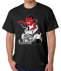 Red Devil Hot Rod T-Shirt