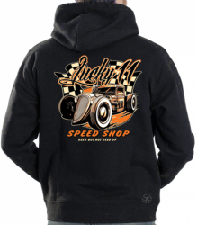 Lucky 11 Speed Shop Hoodie Sweat Shirt