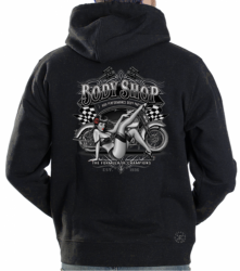 Body Shop Pinup Hoodie Sweat Shirt