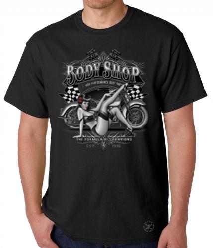 Body Shop Pinup T-Shirt