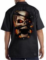 Skull Rip Work Shirt