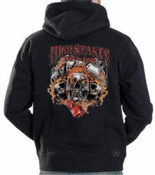 High Stakes Skull Hoodie Sweat Shirt