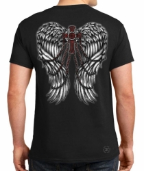Wings w/ Cross & Chains T-Shirt