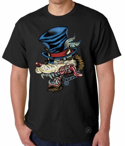 Wolf Tattoo T-Shirt