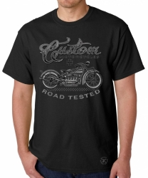 Custom Motorcycles Road Tested T-Shirt