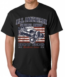 All American Speed Shop T-Shirt