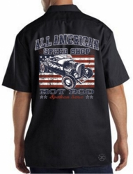 All American Speed Shop Work Shirt