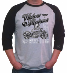 Widow Makers Raglan Tee