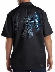 Praying Grim Reaper Work Shirt