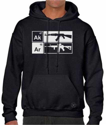 AK47 - AR15 Hoodie Sweat Shirt