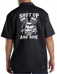 Shut Up & Ride Work Shirt