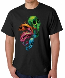 Distorted Skulls T-Shirt