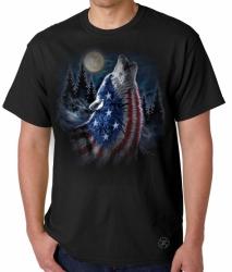 Howling Wolf Americana T-Shirt