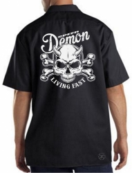Speed Demon Living Fast Work Shirt